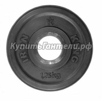 Блин обрезиненный  Евро-Классик 1,25 кг (d51)